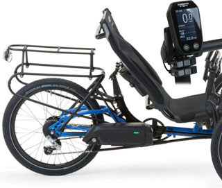 Recumbent Company and ICE Steps Electric Assist
