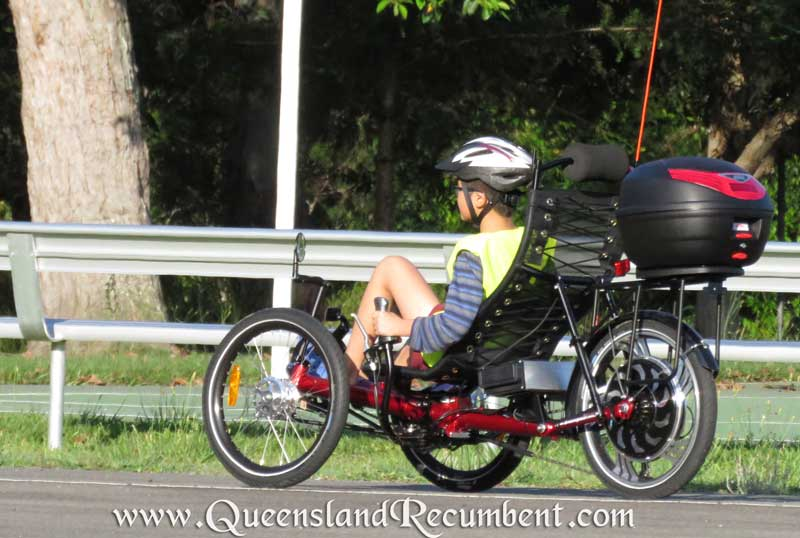 Recumbent trikes be fitted with assist motors