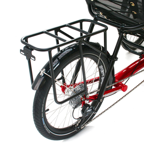 Carry luggage with a luggage rack