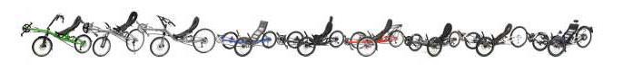 Recumbent Trikes and Bikes